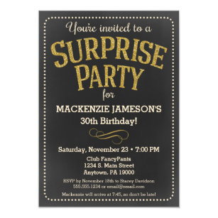 Surprise 60th Birthday Party Invitations Announcements Zazzle
