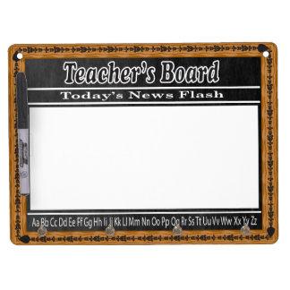 Chalkboard Teacher's Message Board