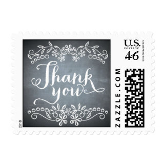 Chalkboard - Thank You Stamp