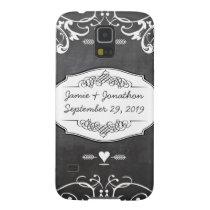 Chalkboard Typography Weddings Case For Galaxy S5