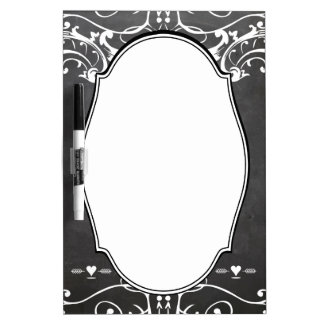 Chalkboard Typography Weddings Dry-Erase Board
