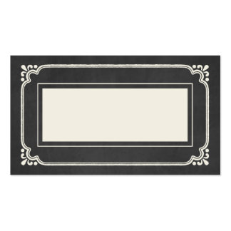 Chalkboard Union | Wedding Place Cards Business Card