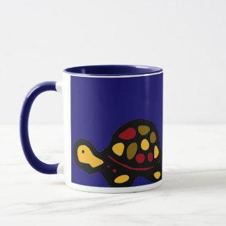chalkboard wallies turtle mug