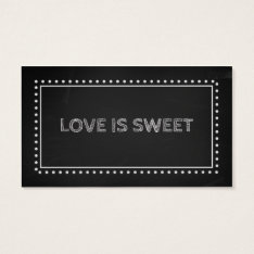 Chalkboard Wedding Favor Recipe Tags at Zazzle