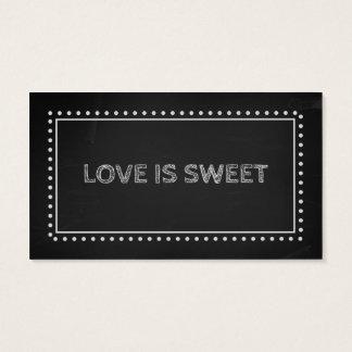 Chalkboard Wedding Favor Recipe Tags