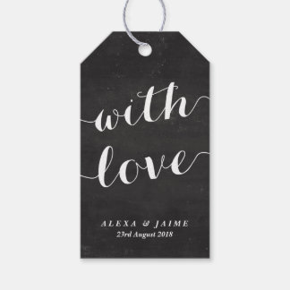 Calligraphy Gift Tags Zazzle