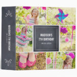 Chalked Collage All Purpose Photo Album 3 Ring Binder at Zazzle