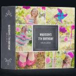 "Chalked Collage All Purpose Photo Album 3 Ring Binder<br><div class=""desc"">Design &#169; berryberrysweet.com</div>"