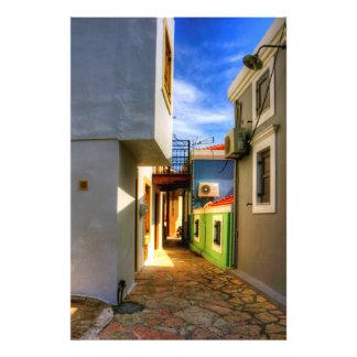 Chalki Alleyway Photo Print