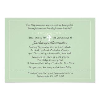 "Chalky Border Invitation 5"" X 7"" Invitation Card"