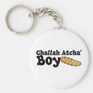 Challah Atcha' Boy Keychain