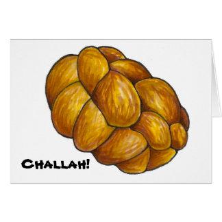 Challah! Bread Loaf Hanukkah Chanukah Notecards Card