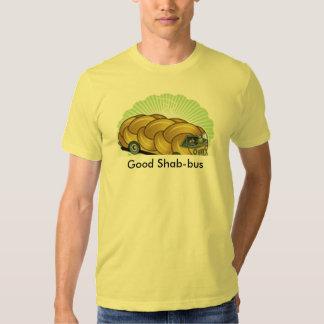 Challah Bus, Good Shab-bus - Customized Tee Shirt