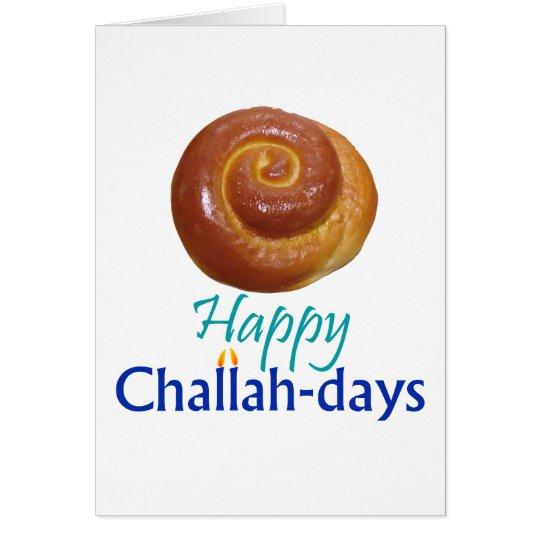 Challah-day Card