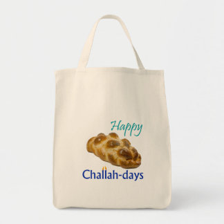 Challah-days Tote Grocery Tote Bag