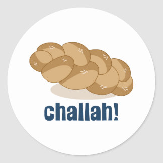 Challah Stickers