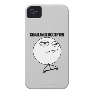 Challenge Accepted Case-Mate iPhone 4 Case