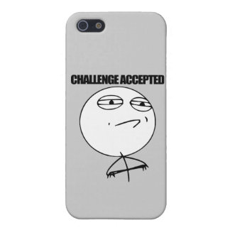 Challenge Accepted Cover For iPhone SE/5/5s
