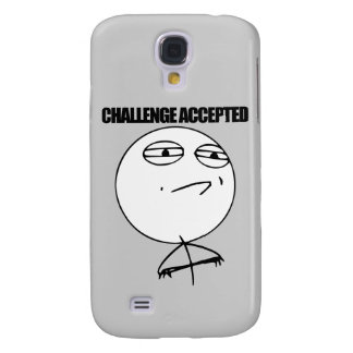 Challenge Accepted Galaxy S4 Cases