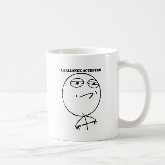 Challenge Accepted Gear Coffee Mug