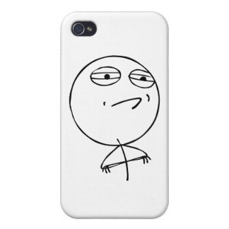 Challenge Accepted iPhone 4 Cases