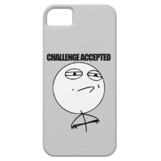 Challenge Accepted iPhone SE/5/5s Case