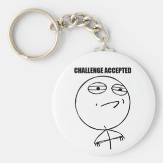 Challenge Accepted - Keychain