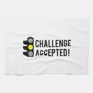 Challenge Accepted Towel