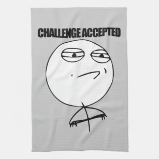 Challenge Accepted Towels