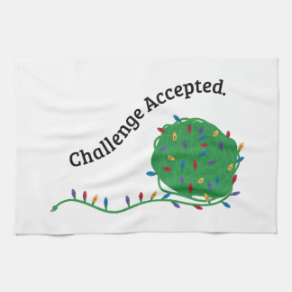 Challenge Accepted Hand Towel