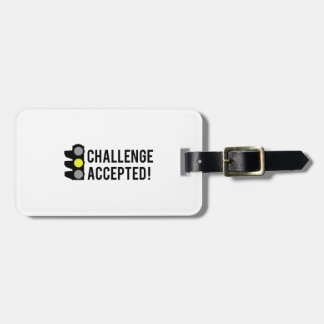 Challenge Accepted Travel Bag Tags