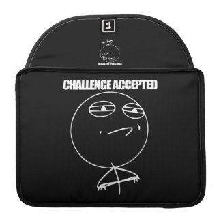 Challenge Accepted MacBook Pro Sleeves