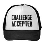 Challenge Accepted Mesh Hats