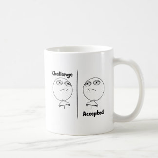 Challenge Accepted! Coffee Mugs