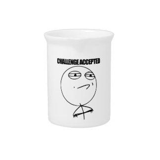 Challenge Accepted Beverage Pitcher