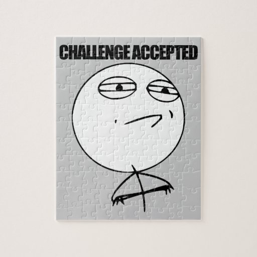 Challenge Accepted Puzzles
