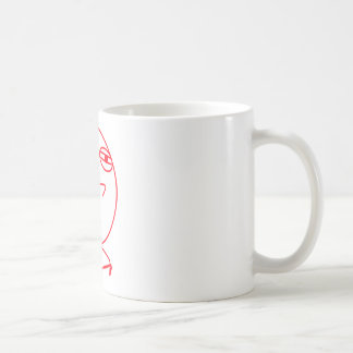 Challenge Accepted Red & White Coffee Mugs