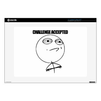 Challenge Accepted Skin For Laptop
