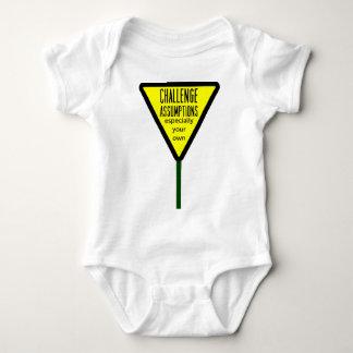 Challenge Assumptions Baby Bodysuit