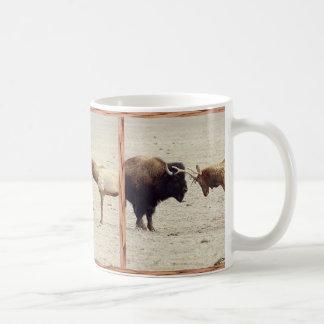 Challenge--Buffalo vs Elk Coffee Mug