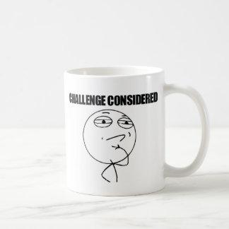 Challenge Considered Coffee Mug