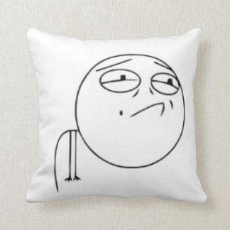 Challenge Failed comic meme Pillow