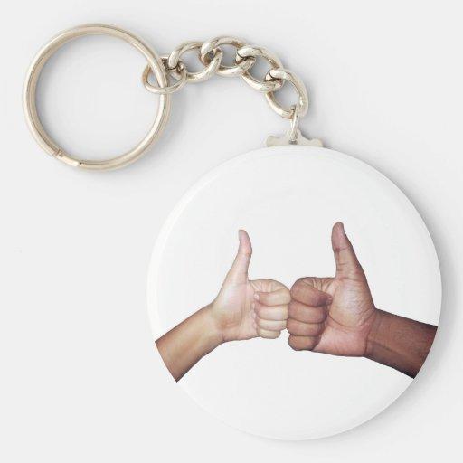 Challenge Me Basic Round Button Keychain