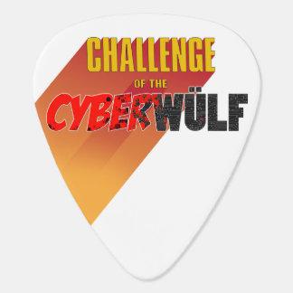 "CHALLENGE of the CYBERWÜLF ""Logo"" Guitar Pick"