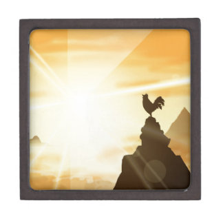 Challenge the Sun Keepsake Box