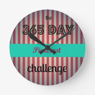 Challenge Time Keeper Round Clock