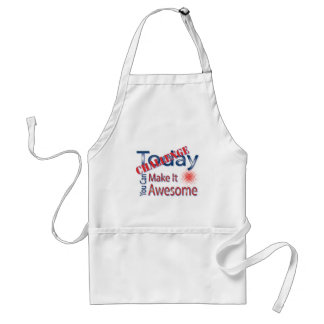Challenge Today You Can Make It Awesome Adult Apron