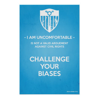 Challenge Your Biases Posters
