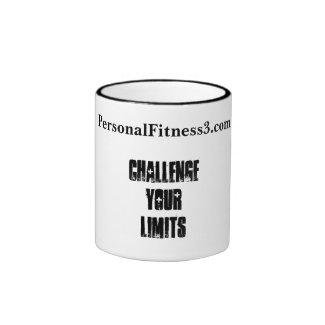 Challenge Your Limits Coffee Ringer Mug