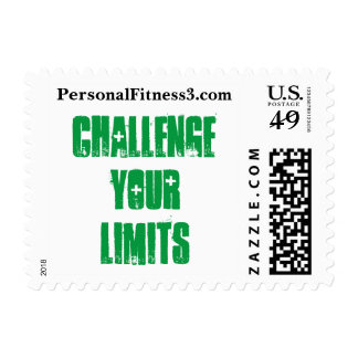 Challenge Your Limits - Postage Stamps